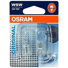 OSRAM W5W ORIGINAL Standlicht Beleuchtung Standlicht mit E PRÜFZEICHEN T10 12V