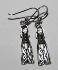 Scuba Jewelry,Sterling Silver Earrings  S251