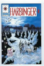 Harbinger #4 (Apr 1992, Valiant) very low print run,with coupon,High grade.