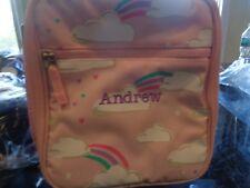 Pottery Barn Kids Mackenzie Classic lunch bag cloud mono Andrew  New