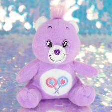 "Care Bears SHARE BEAR Lollipops 6"" Sitting Plush Stuffed Animal 2003 BP005"