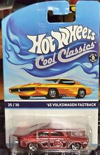 2015 Hot Wheels Cool Classics 1965 Volkswagen Fastback Orange Card K Case
