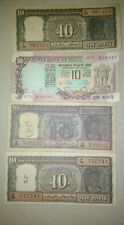 ★ Rs 10  ★ 4 DIFFERENT NOTES SET ★ WITH good conditions NOTES ★