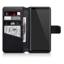 Étuis, housses et coques etuis portefeuilles noir Pour Samsung Galaxy S9 pour téléphone mobile et assistant personnel (PDA)