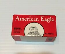 Vintage American Eagle 22 Lr Cartridge Shell Box (Empty Box)