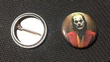 """Joker 2019 - 1"""" Pinback Button Pin - DC - Joaquin Phoenix  Buy 2 Get 1 Free"""
