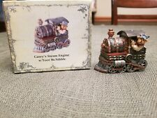 Boyds Bear Casey's Steam Engine w/ Toot McNibble