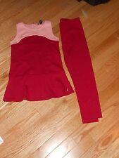Nwt - Nautica pink & cranberry sleeveless tunic top & matching leggings - 5
