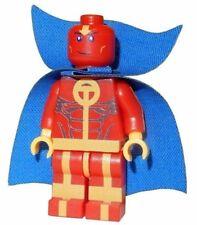 **NEW** Custom Printed - RED TORNADO - DC Universe Building Block Minifigure