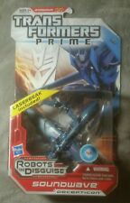 Transformers Prime Robots in Disguise Deluxe Class Soundwave