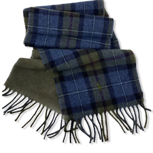 Polo Ralph Lauren Mens Reversible Driver Wool Blend Scarf One Size $58