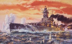 Vintage Classic: Admiral Graf Spee Battleship 1:600 Plastic Model Kit A04211V