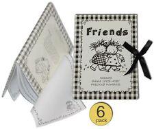 Journal / Autograph / Note Book / Diary (Wholesale Bulk Set of 6)