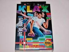 Klax for Sega Game Gear System **BRAND NEW FACTORY SEALED**