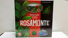 Yerba Mate Tea Bags - ROSAMONTE YERBA MATE COCIDO (ARGENTINA) 50 bags x 3g wrap