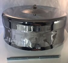 Chrome Mushroom Dome  Air Cleaner Assembly (For 4 bbl Barrel Carburetor Hotrod)