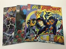 THE BUTCHER #1-4 (DC/1990/BARON/ANTON PENSA/0216189) COMPELTE SET LOT OF 4