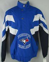 Toronto Blue Jays Men's Blue Starter 1/4 Snap & Zip Jacket MLB
