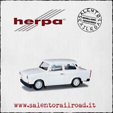 HERPA 027342 AUTO Trabant 1.1 bianca - NUOVO 1/87