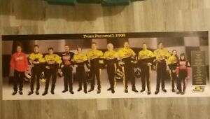 1998 Team Pennzoil  35x11 Poster Past to Present 12 Must Have Drivers Frame This