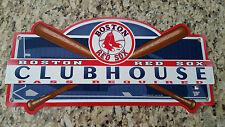 BOSTON RED SOX ~ MLB 8x18 Wall Display Locker Room Sign ~ New!
