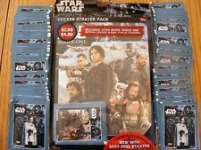 STAR WARS ROGUE ONE STICKER STARTER PACK & 50 EXTRA sealed PACKETS