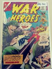 WAR HEROES 14 GD 2.0 CHARLTON COMICS 1965 PA2-321