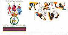 GB 1996 Olympic&Paralympic Games Defence Services FDC FPO558 CDS Unadressed VGC