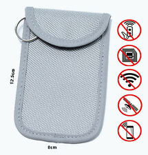 RENAULT Car Key Signal Blocker Case/Pouch -HIGH PERFORMANCE TECHNOLOGY -GREY