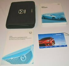 2008 MAZDA 5 OWNERS MANUAL GUIDE BOOK SET WITH CASE OEM