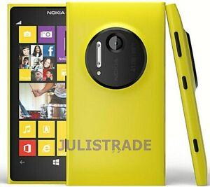 NOKIA LUMIA 1020 Latest Model 32gb Yellow Unlocked Dual Core 41mp LTE Smartphone