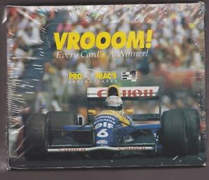 1991 PRO TRACS VROOM FORMULA 1 RACING FACTORY SEALED BOX