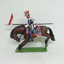 Plomb peint Cavalier empire