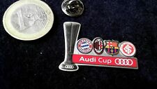 Fussball FC Bayern München Audi Cup Milan Barcelona SC Internacional 2011 Trophy