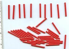 LEGO x 40 Red Bar 4L NEW lightsaber blade wand bulk lot 30374 Ninjago City