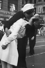 Kissing the War Goodbye Sailor and Nurse Art Poster Print - 24x36