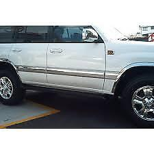 Wheel Arch Moulds to suit Toyota Landcruiser 100 series  Signature Line