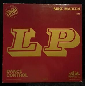 Mike Mareen:Dance Control Lp Italo Euro Disco