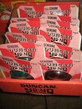 Duncan yo yo yoyo yo-yo 1970s IMPERIAL (11 green examples,1 red) store display