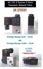 DC 12V 2 Position 3 Ports Pneumatic Solenoid Valve - CF 3V1-06