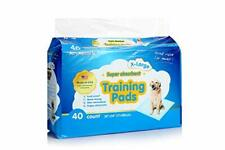 Training Pads for Large Dogs w/ No Leak Absorbent Surface by ALL ABSORB (40ct)