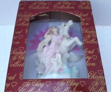 Chambord Collection Fiber Optic Mythical Magic Princess Horse Light Up Wall New