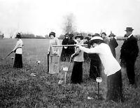 "1910-1915 Nemours Gun Club Vintage Photograph 8.5"" x 11"" Reprint"