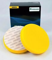 Tamponi per lucidatura Mirka gialli lisci carrozzeria auto lucidare 150mm 2 pz