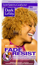 Dark and Lovely Permanent Fade Resist Hair Dye Many Colours Fast DISPATCH Lite Golden Blonde 384