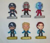 McDonalds Marvel Avengers Endgame Happy Meal Toys Lot of 6 Pcs Captain America