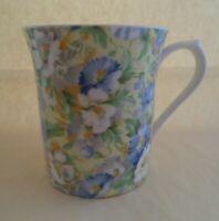 Queens fine bone Rosina china England English Chintz mug