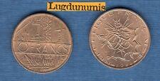 LOT de 2 pc 10 Francs Mathieu 1984 Tranche A + B SUP Liberté Egalité Fraternité