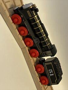 Thomas Wooden Hiro MINT Train Set Black Engine Tender Railway Friend Car Toy