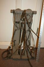 Ww1 German Wood And Leather Pack, Original Great Condition